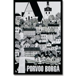Come to Finland / Sanna Mander [ PORVOO - BORGA ] 大判ポストカード