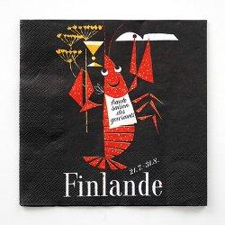 Come to Finland / Erik Bruun [ Rapukausi ] ペーパーナプキン