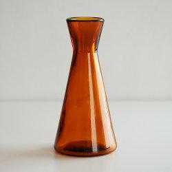 フィンランド買いつけ - Glass Vase (amber)