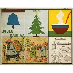 フィンランドで見つけた教材ポスター(クリスマス)