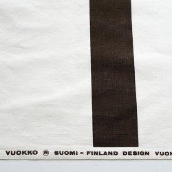 VUOKKO / Vuokko Eskolin-Nurmesniemi [ ARKKITEHTIRAITA 1973 ] vintage fabric