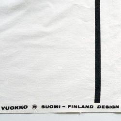 VUOKKO / Vuokko Eskolin-Nurmesniemi [ ISO KISKO 1976 ] vintage fabric