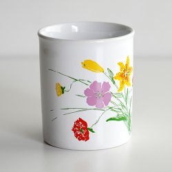 marimekko [ made in England - Flowers ] old mug