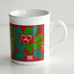 <img class='new_mark_img1' src='https://img.shop-pro.jp/img/new/icons48.gif' style='border:none;display:inline;margin:0px;padding:0px;width:auto;' />marimekko [ made in England - Puolukka ] old mug