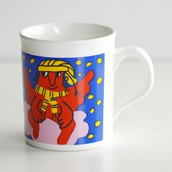 <img class='new_mark_img1' src='https://img.shop-pro.jp/img/new/icons48.gif' style='border:none;display:inline;margin:0px;padding:0px;width:auto;' />marimekko [ made in England ] old mug