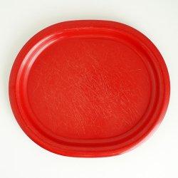 SARVIS / Kaj Franck [ Pitopoyta - Easy Day ] melamine 26cm oval plate シールなし