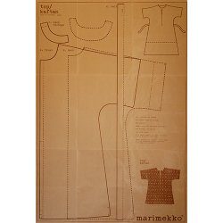 marimekko [ paper pattern ] トップス型紙