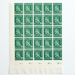 フィンランドの切手 - SUOMI FINLAND 0.5markka