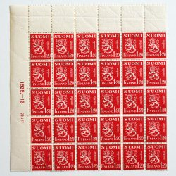 フィンランドの切手 - SUOMI FINLAND 1.2markka