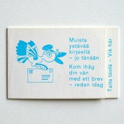フィンランドの切手シート