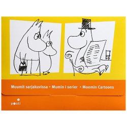 ムーミン 切手&ポストカードセット 2009年