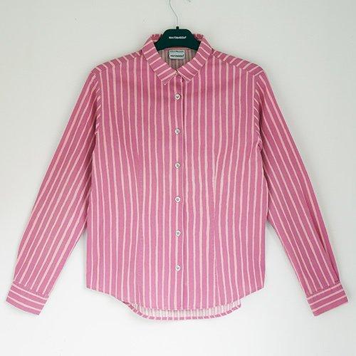 marimekko used [ JOKAPOIKA ] ミセス Mサイズ 長袖シャツ