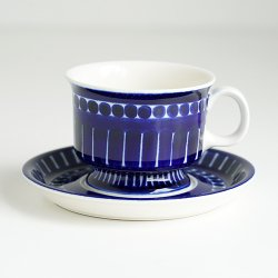 ARABIA / Ulla Procope [ Valencia ] coffee cup & saucer