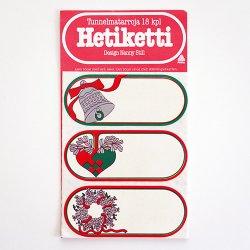 Nanny Still [ Hetiketti ] ラベルステッカー(クリスマス)