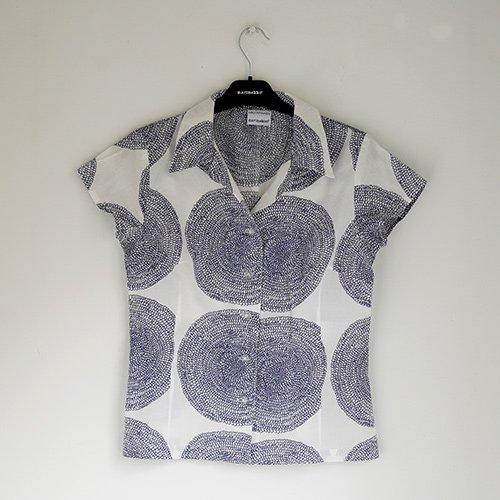 marimekko used [ PUNAPIPPURI ] レディース 半袖シャツ