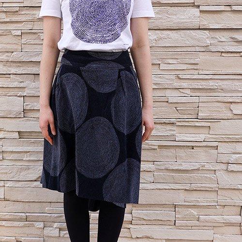 marimekko used [ PUNAPIPPURI ] スカート