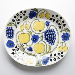 ARABIA / Birger Kaipiainen [ Paratiisi Color ] oval plate オーバルプラター 36cm