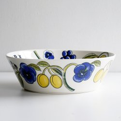 ARABIA / Birger Kaipiainen [ Paratiisi Color ] 23cm bowl