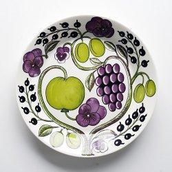 ARABIA / Birger Kaipiainen [ Paratiisi Purple ] 26cm plate