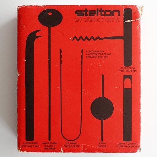 Stelton / Arne Jacobsen - 6 Piece Bar Set