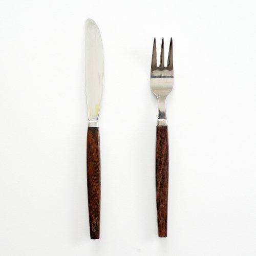 スウェーデンで見つけた デザートナイフ&デザートフォーク