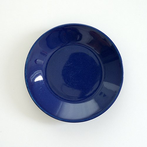 ARABIA / Kaj Franck [ KILTA ] 13cm plate (blue)