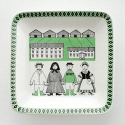 ARABIA / Raija Uosikkinen [ Maakunta sarja / Pohjanmaa ] decoration plate