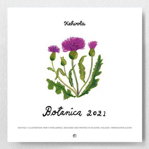 Kehvola design [ BOTANICA ] 2021年カレンダー