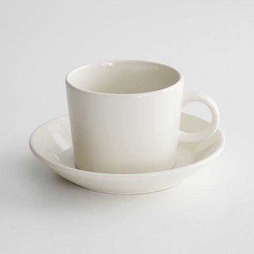 ARABIA / Kaj Franck [ OLD TEEMA ] coffeecup & saucer (140ml/white)