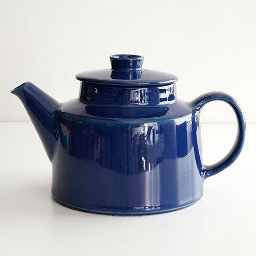 ARABIA / Kaj Franck [ KILTA ] teapot (blue)