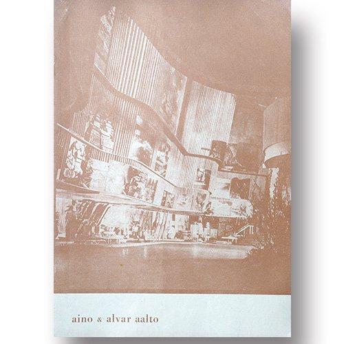 AINO & ALVAR AALTO [ 25 Ars utstallning ] 1948年出版 25周年記念展示ブックレット