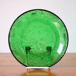 Nuutajarvi / Oiva Toikka [ Fauna ] 15cm plate (green)