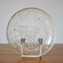 Nuutajarvi / Oiva Toikka [ Fauna ] 15cm plate (clear)