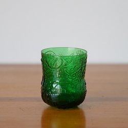 Nuutajarvi / Oiva Toikka [ Fauna ] schnapps glass (green)