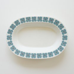 ARABIA / Esteri Tomula [ VEERA ] 17x24.5cm oval plate