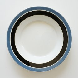 ARABIA / Raija Uosikkinen [ Raide ] 20.5cm deep plate
