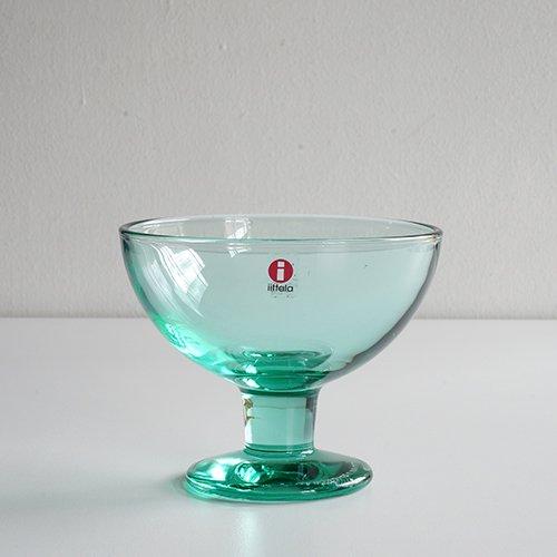 iittala / Kerttu Nurminen [ Verna ] dessert bowl (apple green/シールあり)
