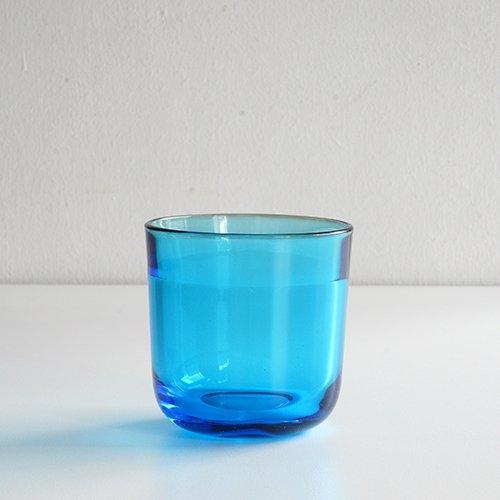 Nuutajarvi / Kaj Franck [ Fasetti ] H7.5cm tumbler (blue)