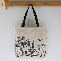 Aurora Decorari - ムーミンのゴブラン織りトートバッグ(ミイ)