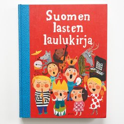 <img class='new_mark_img1' src='https://img.shop-pro.jp/img/new/icons48.gif' style='border:none;display:inline;margin:0px;padding:0px;width:auto;' />[ Suomen lasten laulukirja ] 童謡の本