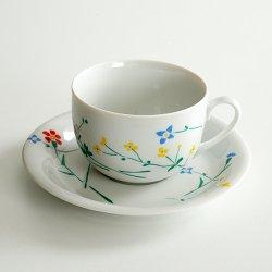 marimekko / Fujiwo Ishimoto [ Lauantaiehtoo ]cup & saucer