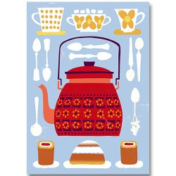 Kehvola Design / Timo Manttari [ Pannu ] postcard