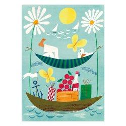 Kehvola Design / Sanna Mander [ Picnic ] postcard