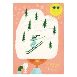 Kehvola Design / Sanna Mander [ Apres Ski ] postcard