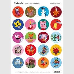 Kehvola Design / Matti Pikkujamsa [ Christmas ] シールシート