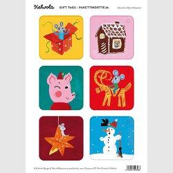 Kehvola Design / Matti Pikkujamsa - ギフトタグ (no.1)