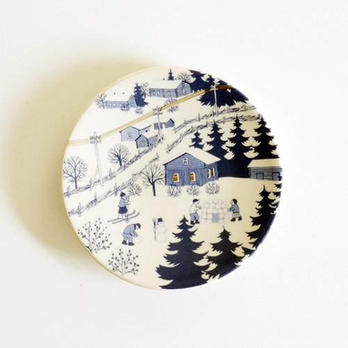 ARABIA / Raija Uosikkinen [ KYLATIE / COUNTRY LANE ] wall plate