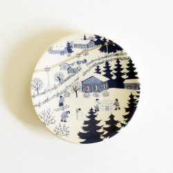 ARABIA / Raija Uosikkinen [ KYLATIE / COUNTRY LANE ] wall plate