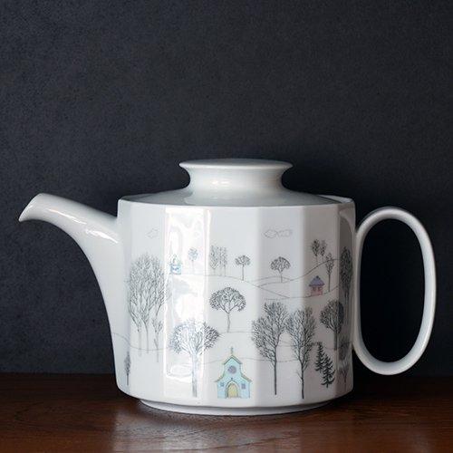Rosenthal / Tapio Wirkkala & Rut Bryk [ Winterreise ] Tea pot