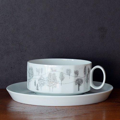 Rosenthal / Tapio Wirkkala & Rut Bryk [ Winterreise ] teacup & saucer